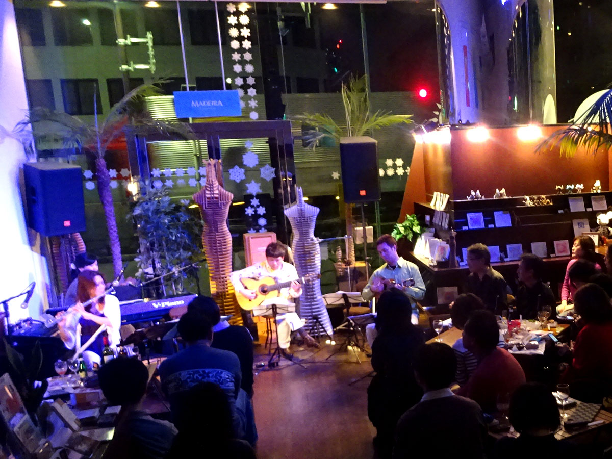 日伯合作ショーロCD「Bom Tempo(日和)」リリース記念ライブ