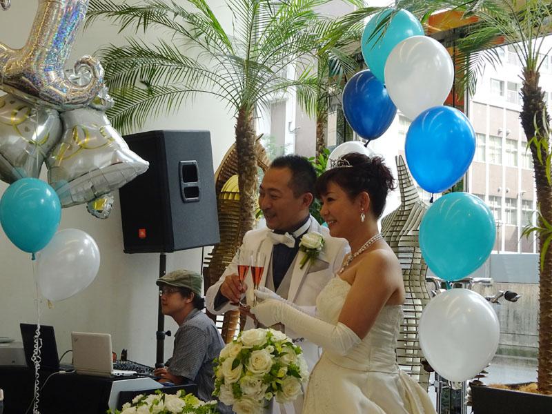 結婚お披露目PARTY